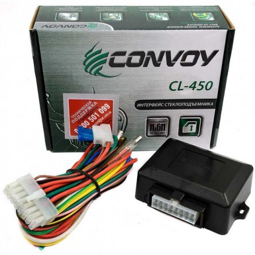Интерфейс стеклоподъемника на 4 стекла Convoy AWC-4