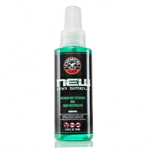 Ароматизатор Chemical Guys Новий автомобіль New Car Smell Premium Air Freshener & Odor Eliminator 118 мл.