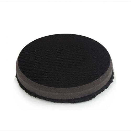 Микрофибровый черный круг для финишной полировки Chemical Guys Black Optics Microfiber Black Polishing Pads 11,43см.
