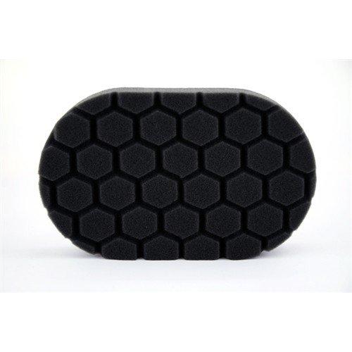 Аппликатор пенополиуретановый Chemical Guys черный для полировки вручную 3 фаза Hex-Logic Finishing Hand Applicator Pad, Black