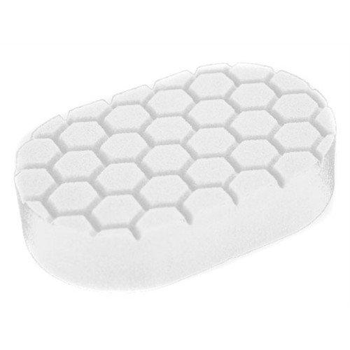 Аппликатор пенополиуретановый Chemical Guys белый для полировки вручную 2 фаза Hex-Logic Polishing Hand Applicator Pad White