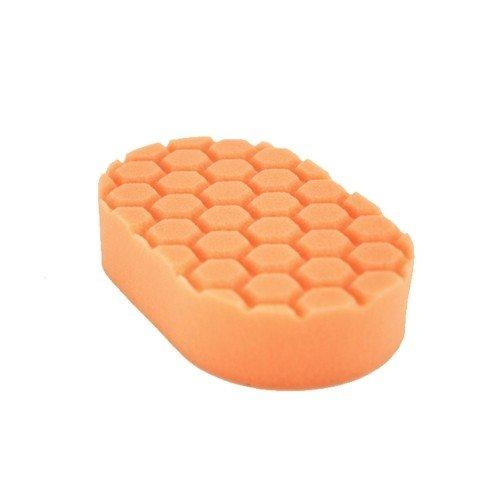 Аппликатор пенополиуретановый Chemical Guys оранжевый для полировки вручную 1 фаза Hex-Logic Medium Cutting Hand Applicator Pad, Orange