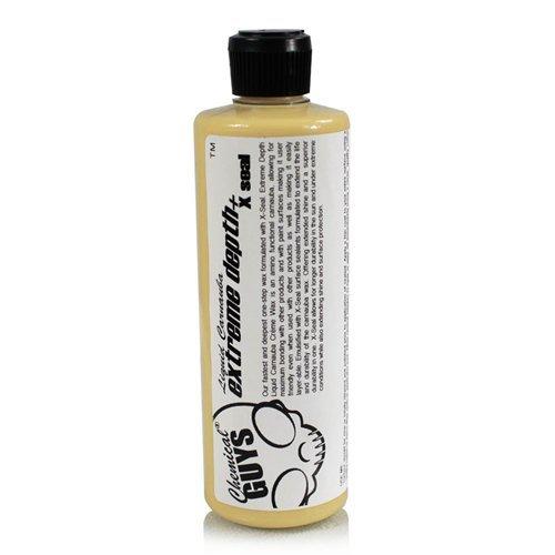 Воск пастообразный Chemical Guys обогащенный синтетическим герметиком глубокого проникновения Extreme Depth Liquid Carnauba Creme Wax X-Seal 473 мл.
