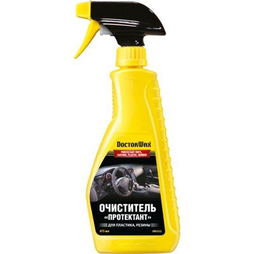 Очиститель «Протектант» для винила, кожи, пластика, резины классический аромат DoctorWax 475 мл