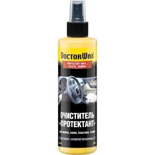 Очиститель «Протектант» для винила, кожи, пластика, резины (аромат новый автомобиль) DoctorWax 236 мл.