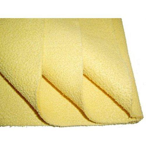 Искусственное замшевое полотенце 59х38см.