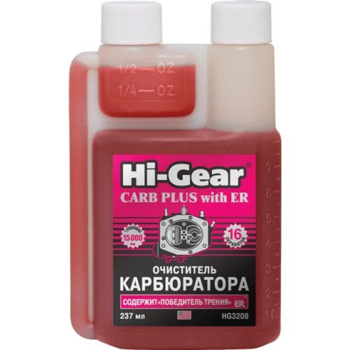 Очиститель карбюратора с ER Hi-Gear 237 мл.