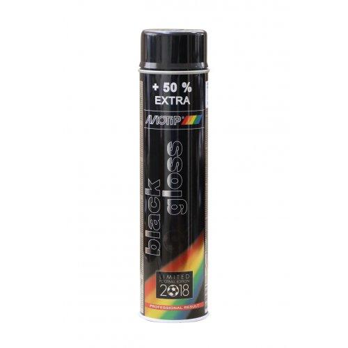 Краска Motip акрил черная глянц 600 мл