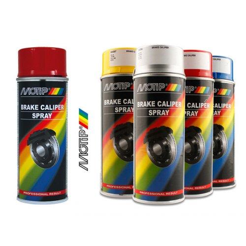Краска для суппортов Motip красная 400 мл.