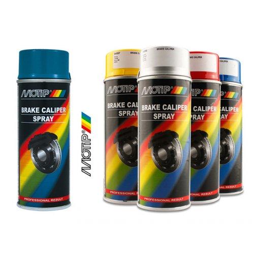 Краска для суппортов Motip синяя 400 мл.