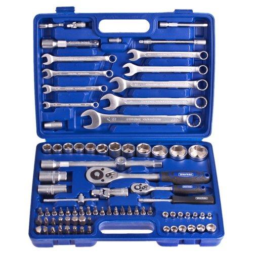 """Универсальный набор инструментов Werker 1/4"""", 1/2"""", 82 предм. (6 гран.)"""