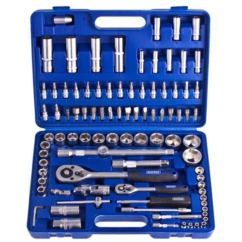 """Универсальный набор инструментов Werker 1/4"""", 1/2"""", 94 предм. (6 гран.)"""