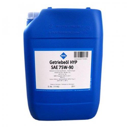 Трансмиссионное масло Aral Getriebeoel HYP SYNTH. 75W-90 20л.