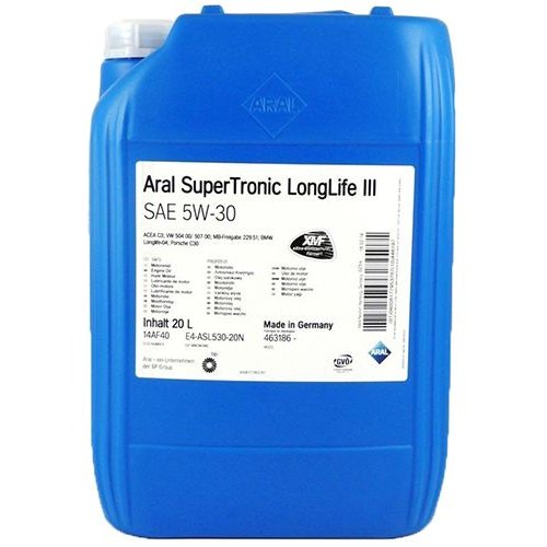 Aral SuperTronic Longlife III 5W-30 20л.