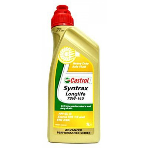 Castrol Syntrax Long Life 75W-140 1л.