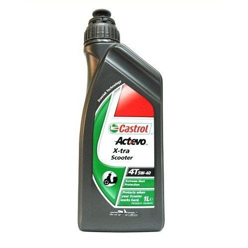Castrol Act>Evo Scooter 4T 5W-40 1л.