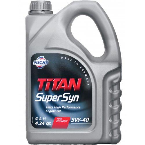 Моторна олива Fuchs Titan Supersyn 5W-40 4л.