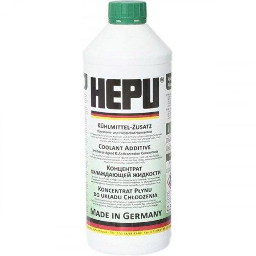 Hepu Antifreeze Зеленый G11 1,5л.