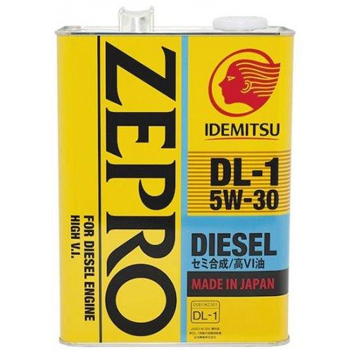 Моторное масло Idemitsu Zepro Diesel DL-1 5W-30 4л.