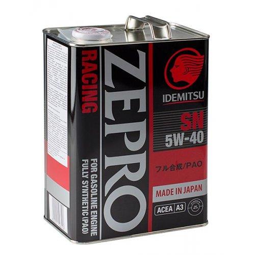 Idemitsu Zepro Racing 5W-40 4л.