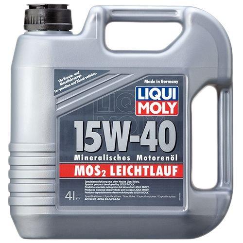 Liqui Moly MoS2 Leichtlauf 15W-40 4л.