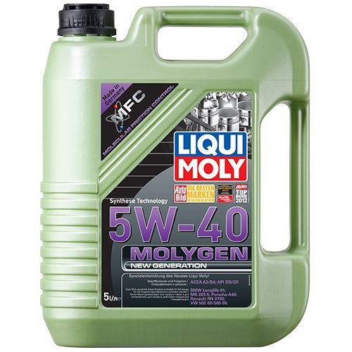 Liqui Moly Molygen New Generation 5W-40 5л.