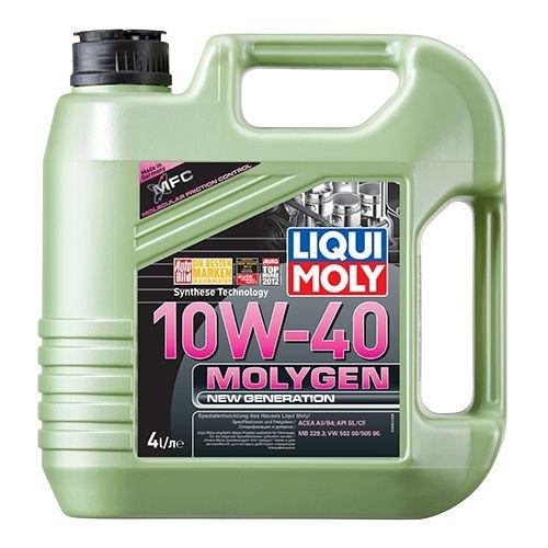Моторна олива Liqui Moly Molygen New Generation 10W-40 4л.