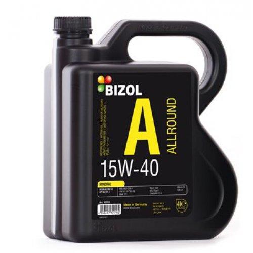 Моторное масло Bizol Allround 15W-40 4л