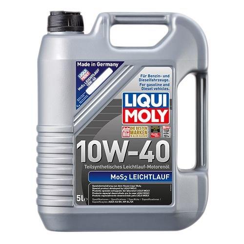 Моторна олива Liqui Moly MoS2 Leichtlauf 10W-40 5л.