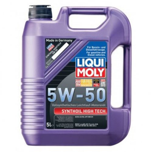 Liqui Moly Synthoil High Tech 5W-50 5л.