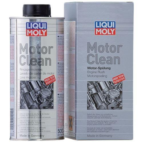 Интенсивная промывка масляной системы Liqui Moly MotorClean 500 мл.