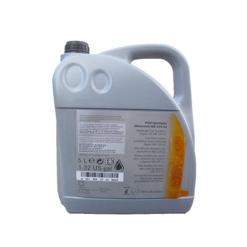 Mercedes-Benz Engine Oil MB 229.52 5W-30 5л.