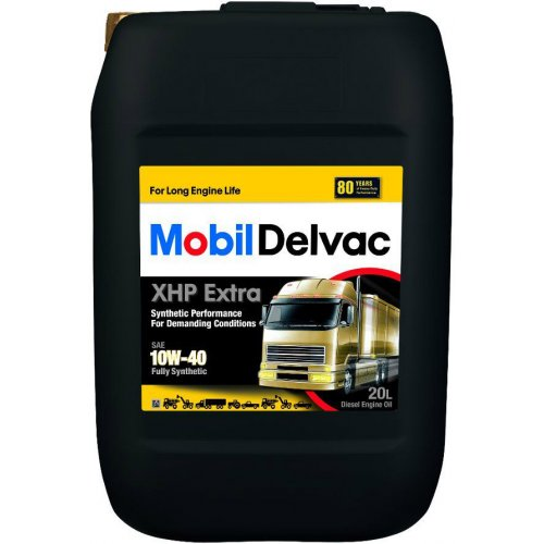 Mobil Delvac 1 XHP Extra 10W-40 20л.