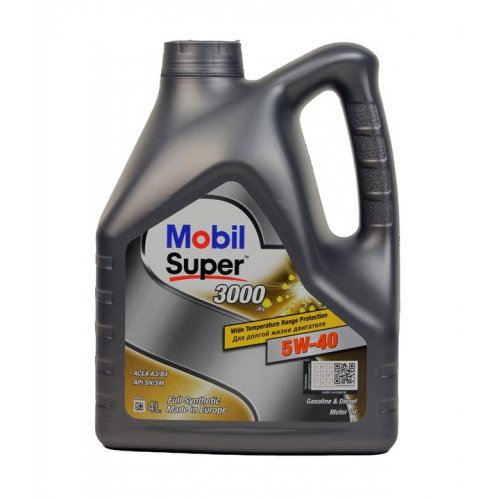 Моторное масло Mobil 1 Super 3000 X1 5W-40 4л.