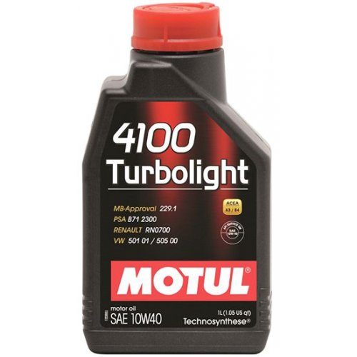 Motul 4100 Turbolight 10W-40 1л.