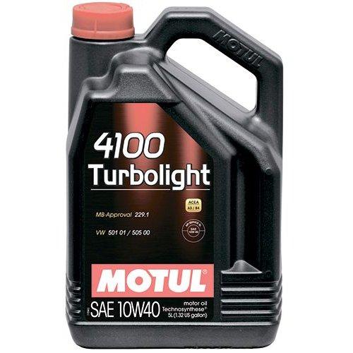 Motul 4100 Turbolight 10W-40 5л.