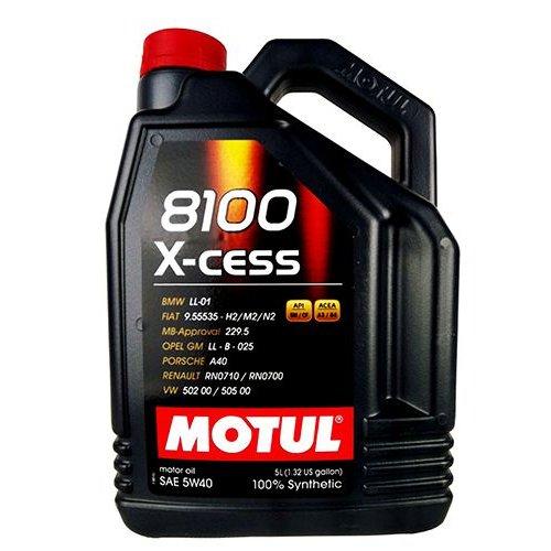 Моторное масло Motul 8100 X-cess 5W-40 5л.