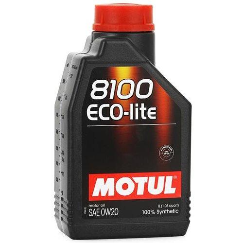 Motul 8100 Eco-lite 0W-20 1л.