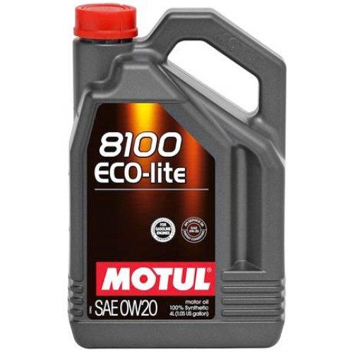 Motul 8100 Eco-lite 0W-20 4л.