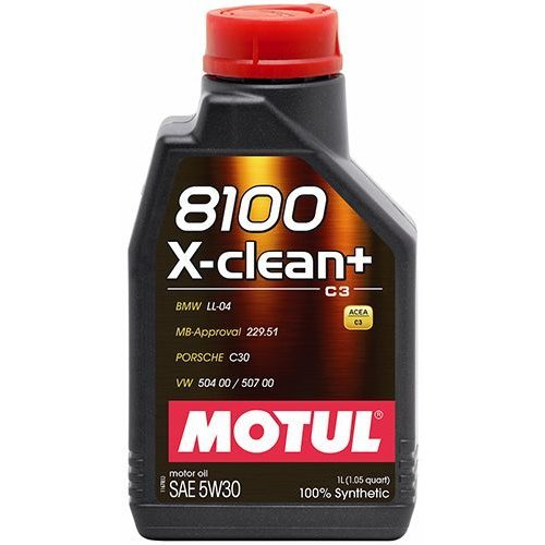 Моторна олива Motul 8100 X-clean + 5W-30 1л.