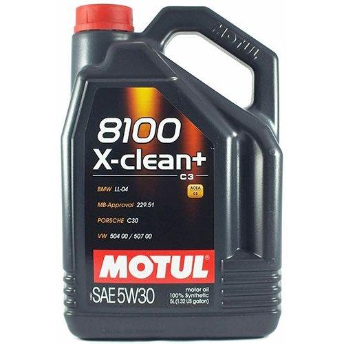 Моторна олива Motul 8100 X-clean + 5W-30 5л.