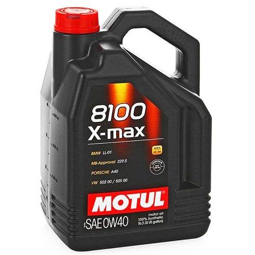 Motul 8100 X-max 0W-40 5л.