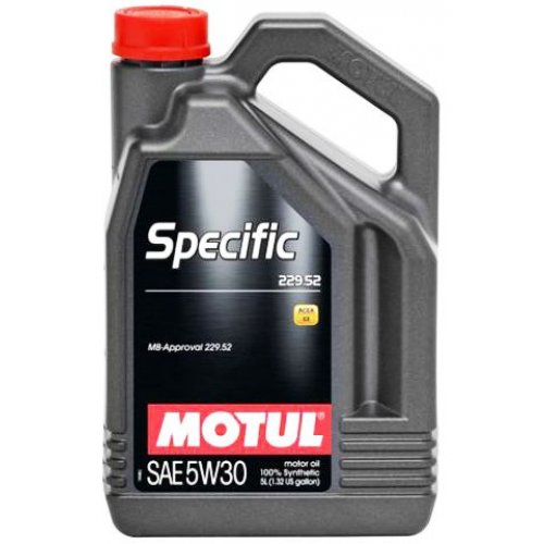 Моторное масло Motul Specific MB 229.52 5W-30 5л.