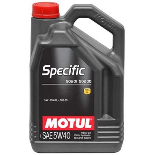 Motul Specific VW 505 01/502 00 5W-40 5л.
