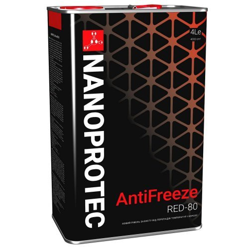 Nanoprotec Antifreeze red -80 G12 4л.