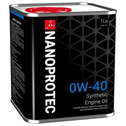 Моторне масло Nanoprotec Engine Oil 0W-40 1 л