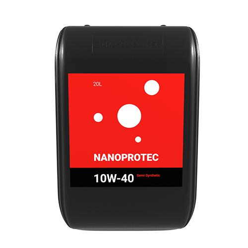 Моторное масло Nanoprotec 10W-40 Semi-Synthetic 20л.