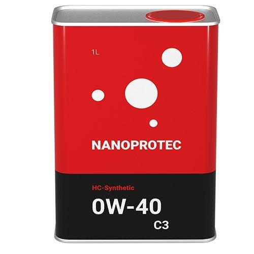 Моторное масло Nanoprotec 5W-30 С3 HC-Synthetic 1л.