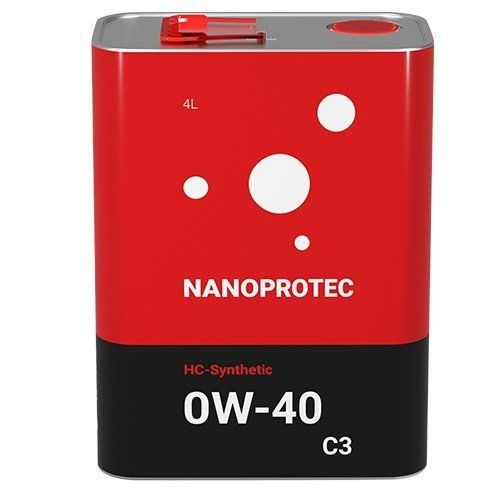 Моторне масло Nanoprotec 5W-30 С3 HC-Synthetic 4 л