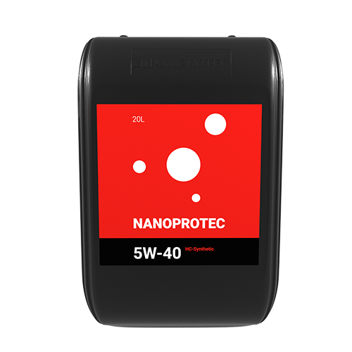 Моторне масло Nanoprotec 5W-40 HC-Synthetic 20л.